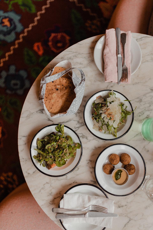 A selection of mezze at neni restaurant Paris
