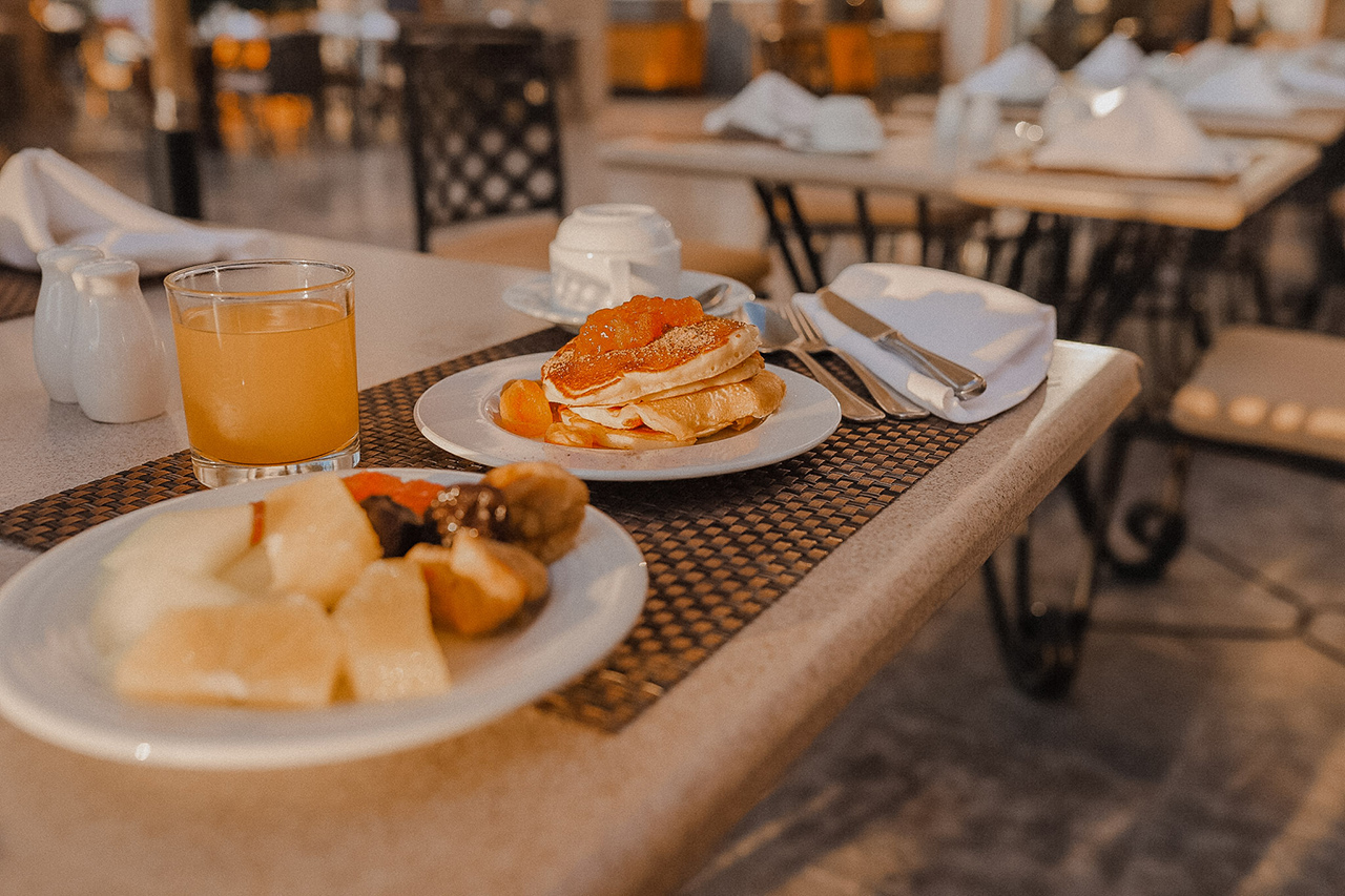 Breakfast at Palace Port Ghalib, Marsa Alam