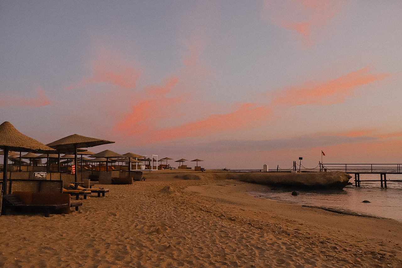 Sunrise in Marsa Alam, Egypt