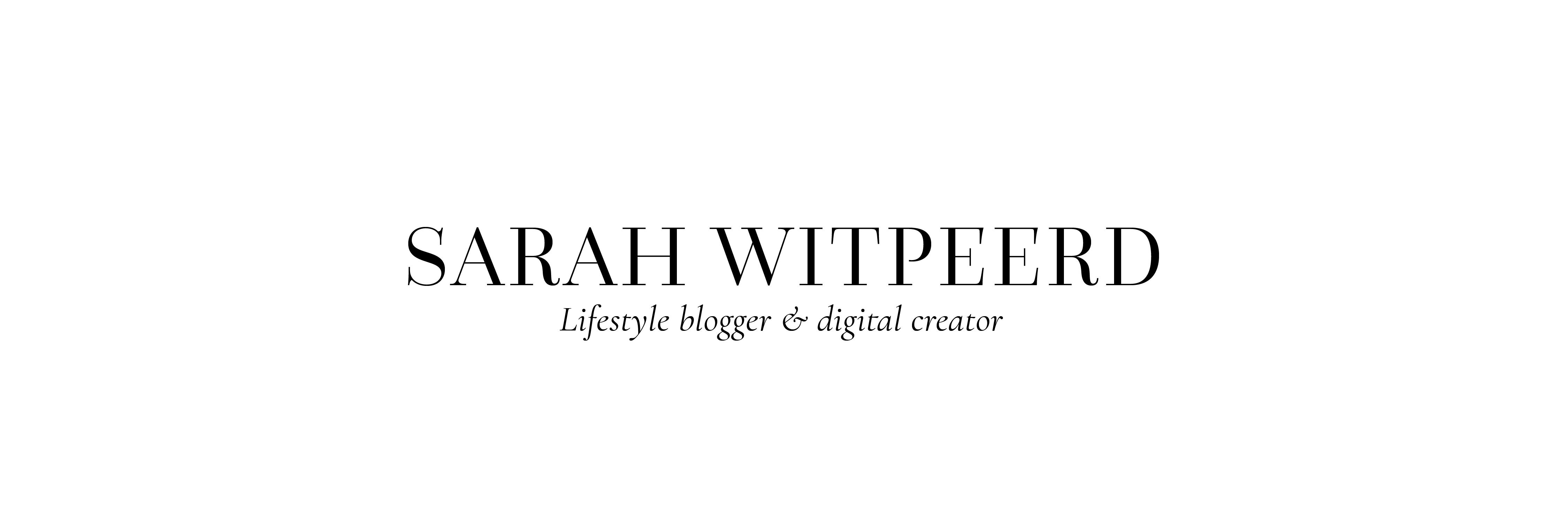 Sarah Witpeerd